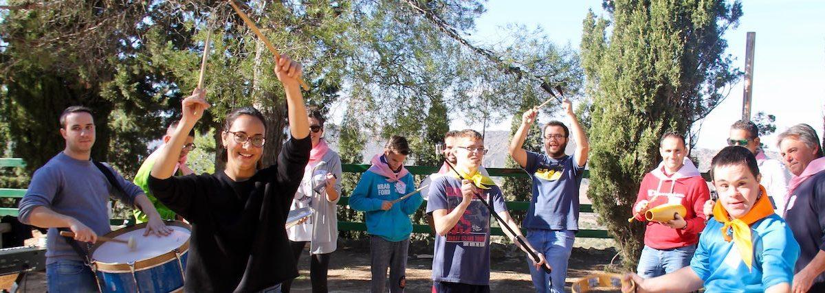 Taller de música en la jornada social de MAZA Grupo y No Hay Límite de Yecla