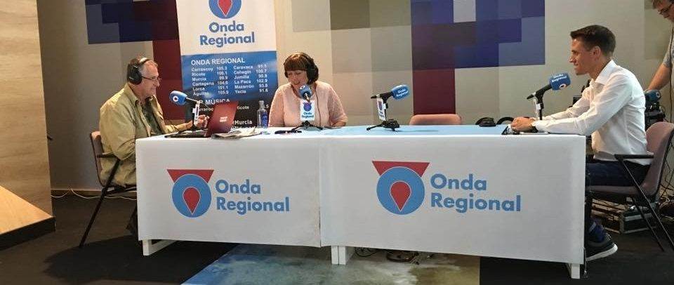 Entrevista Pablo Soler en MuryCia , magazine de Onda Regional de Murcia