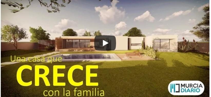 Vídeo de La Casa Que Crece en el canal de YouTube de Murcia Diario