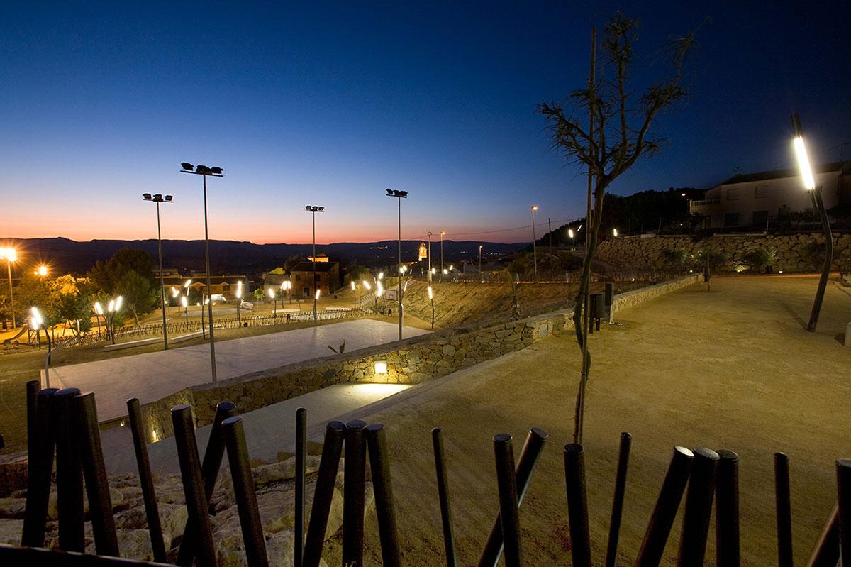 arquitectura y paisajismo, parque municipal