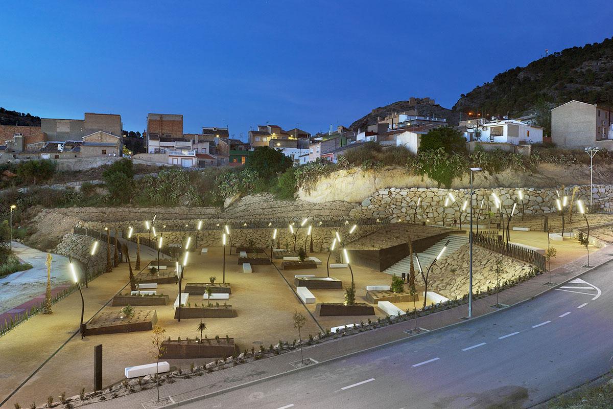proyecto parque municipal diseño paisajismo