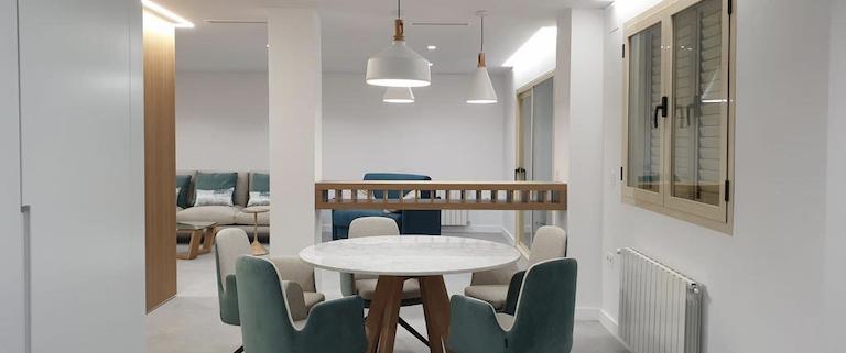 Salon comedor y cocina vivienda